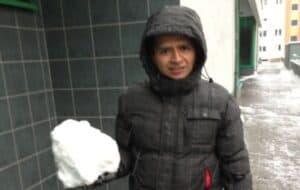 snow in poland