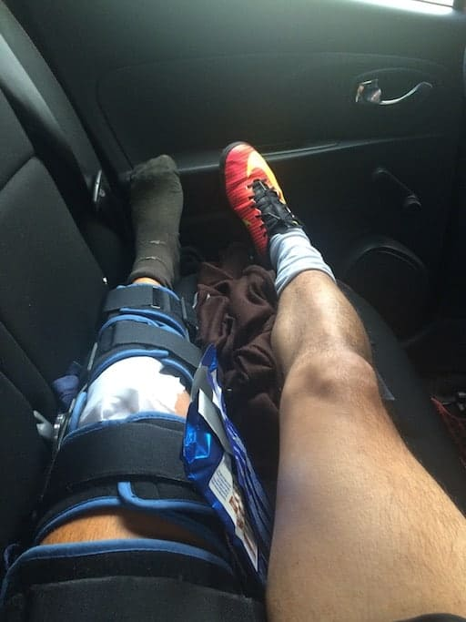 knee after operation