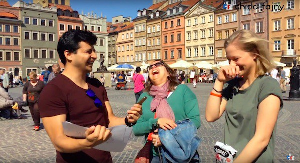 Polish language contest video