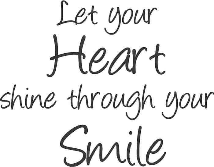 smile phrase
