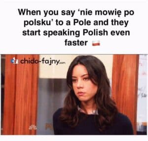 Polish Meme People Speaking Chido Fajny